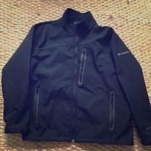 Columbia XXL black jacket Omni-shield